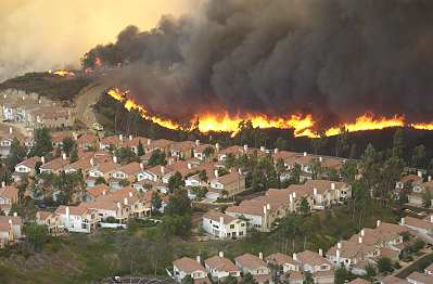 New collaborative grant with UC San Diego on Real-Time Wildfire Modeling from the NSF (WIFIRE)