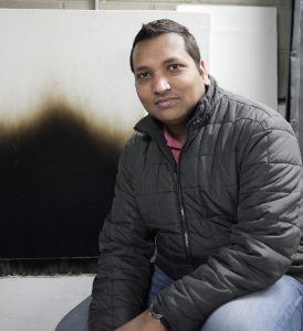 Paper by PhD student Ajay Singh and Assistant Professor Michael Gollner awarded Distinguished Paper on Fire Research by the Combustion Institute